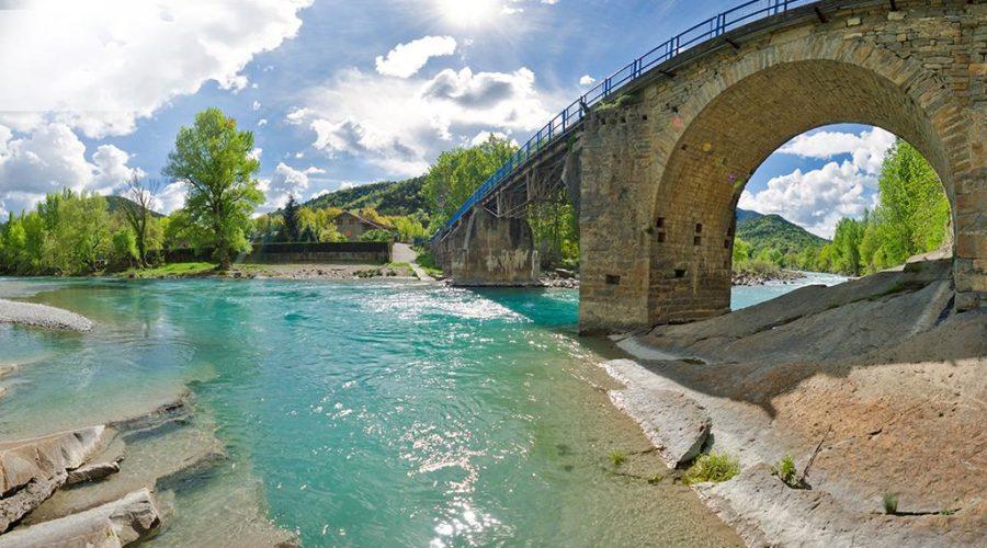 Zonas de baño en ríos del Pirineo Aragonés