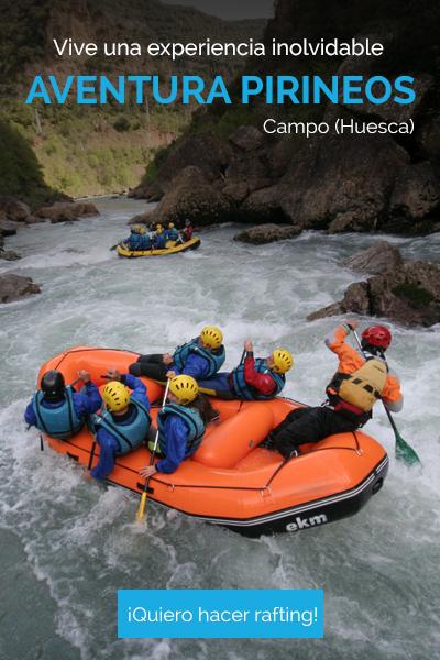rafting, campo, huesca